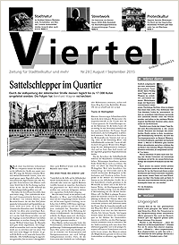 Die Viertel Nr. 28 - Ausgabe August/ September 2015